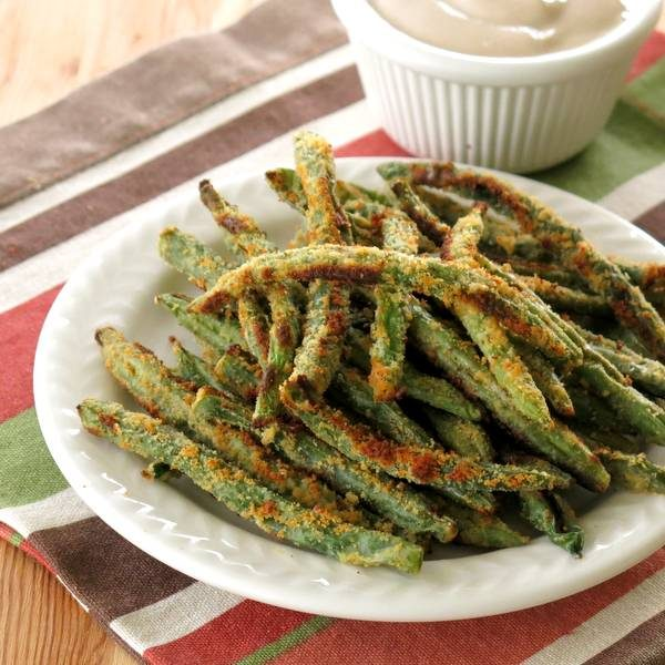 Easy-Baked-Green-Bean-Fries-Recipe