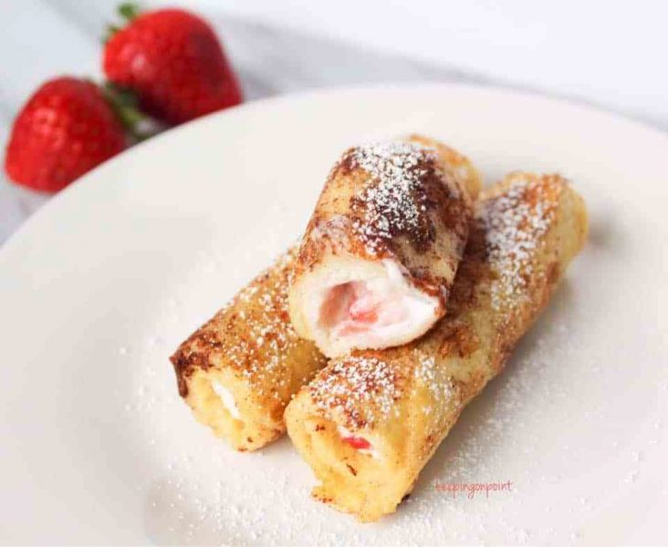 Strawberries-and-Cream-Cheese-French-Toast-Roll-Ups-Weight-Watchers-Freestyle-3