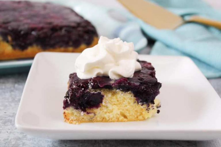 Upside-Down-Blueberry-Cake-WW-Weight-Watchers-Freestyle-Healthy-Recipes