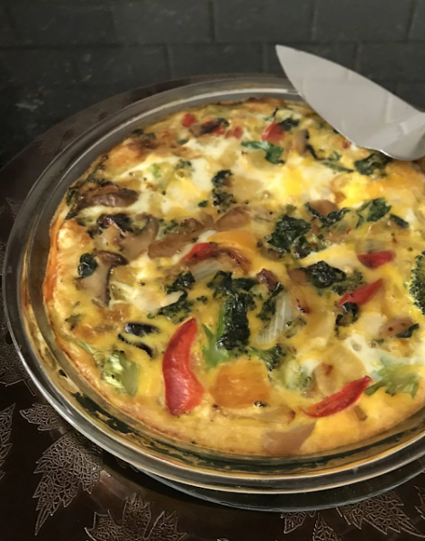 Weight Watchers Recipes Breakfast Crustless Frittata